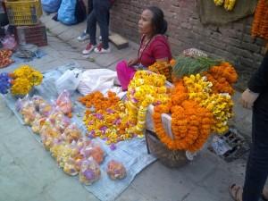 Penjual Bunga