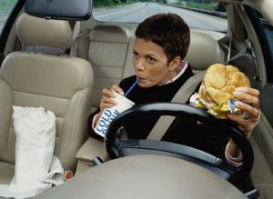 eat in car